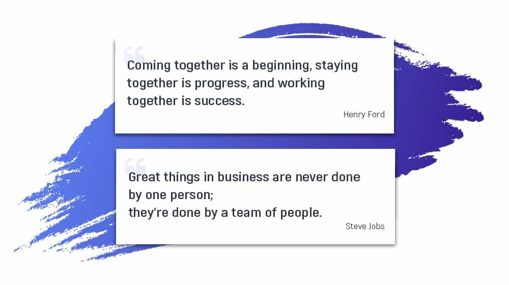 12 Inspiring Team Quotes about Collaboration