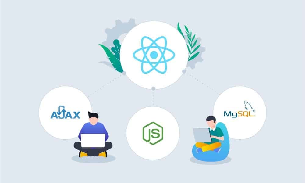 How to create a single-page application using React?